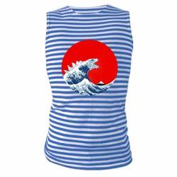 Майка-тільняшка Godzilla Wave