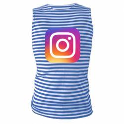 Майка-тільняшка Instagram Logo Gradient
