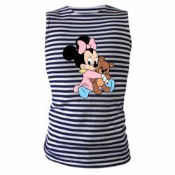 Майка-тільняшка Minnie And Bear