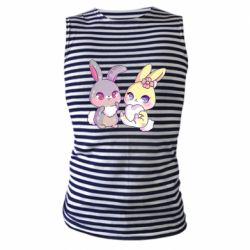 Майка-тільняшка Rabbits In Love