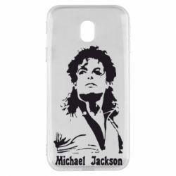 Чехол для Samsung J3 2017 Майкл Джексон