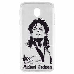 Чехол для Samsung J7 2017 Майкл Джексон