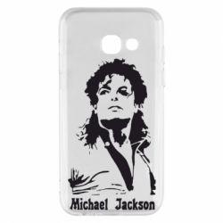 Чехол для Samsung A3 2017 Майкл Джексон