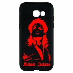 Чехол для Samsung A5 2017 Майкл Джексон