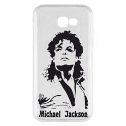 Чохол для Samsung A7 2017 Майкл Джексон
