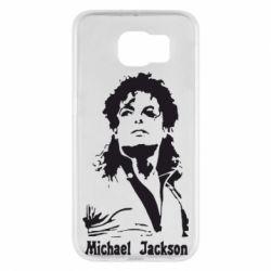 Чехол для Samsung S6 Майкл Джексон