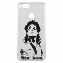 Чехол для Xiaomi Mi A1 Майкл Джексон