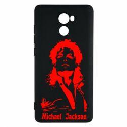Чехол для Xiaomi Redmi 4 Майкл Джексон