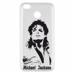 Чехол для Xiaomi Redmi 4x Майкл Джексон