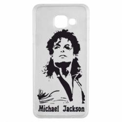 Чехол для Samsung A3 2016 Майкл Джексон