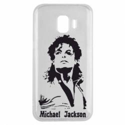 Чехол для Samsung J2 2018 Майкл Джексон
