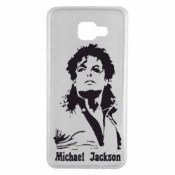 Чохол для Samsung A7 2016 Майкл Джексон