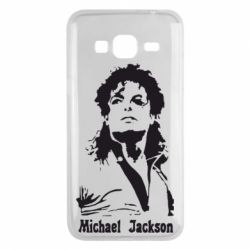 Чехол для Samsung J3 2016 Майкл Джексон