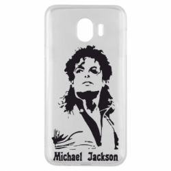 Чехол для Samsung J4 Майкл Джексон