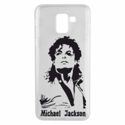 Чехол для Samsung J6 Майкл Джексон