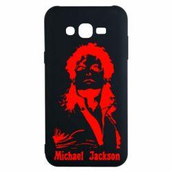 Чехол для Samsung J7 2015 Майкл Джексон