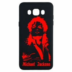 Чехол для Samsung J7 2016 Майкл Джексон