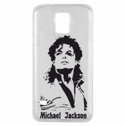 Чехол для Samsung S5 Майкл Джексон