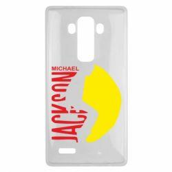 Чехол для LG G4 Майкл Джексон - FatLine
