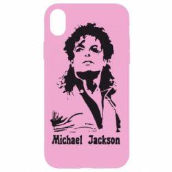 Чехол для iPhone XR Майкл Джексон