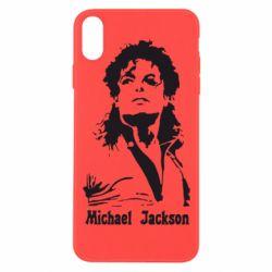 Чехол для iPhone Xs Max Майкл Джексон