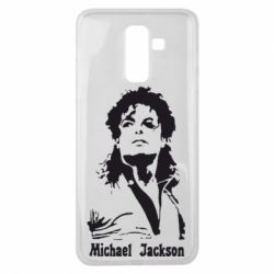 Чехол для Samsung J8 2018 Майкл Джексон