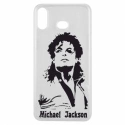 Чехол для Samsung A6s Майкл Джексон