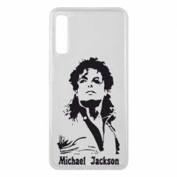 Чехол для Samsung A7 2018 Майкл Джексон