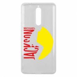 Чехол для Nokia 8 Майкл Джексон - FatLine