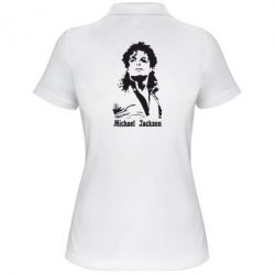 Жіноча футболка поло Майкл Джексон