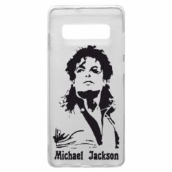 Чехол для Samsung S10+ Майкл Джексон