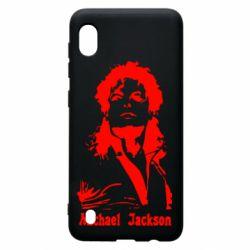Чехол для Samsung A10 Майкл Джексон