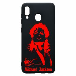 Чехол для Samsung A20 Майкл Джексон