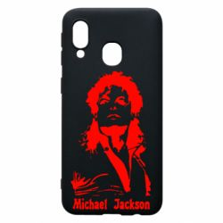 Чехол для Samsung A40 Майкл Джексон