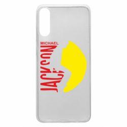 Чехол для Samsung A70 Майкл Джексон