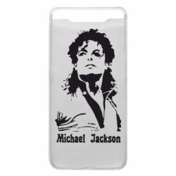 Чехол для Samsung A80 Майкл Джексон