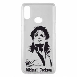 Чехол для Samsung A10s Майкл Джексон