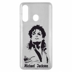 Чехол для Samsung M40 Майкл Джексон