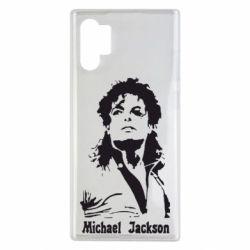 Чехол для Samsung Note 10 Plus Майкл Джексон