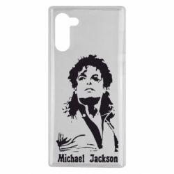 Чехол для Samsung Note 10 Майкл Джексон
