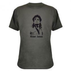 Камуфляжна футболка Майкл Джексон