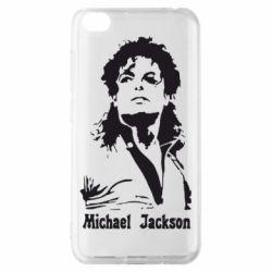 Чехол для Xiaomi Redmi Go Майкл Джексон