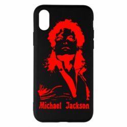 Чехол для iPhone X/Xs Майкл Джексон