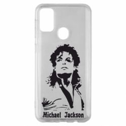Чохол для Samsung M30s Майкл Джексон