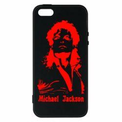 Чохол для iphone 5/5S/SE Майкл Джексон