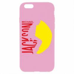 Чехол для iPhone 6/6S Майкл Джексон - FatLine