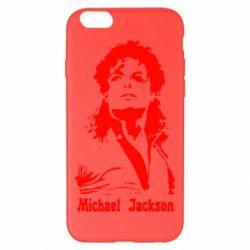 Чехол для iPhone 6 Plus/6S Plus Майкл Джексон