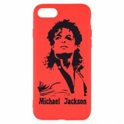 Чехол для iPhone 7 Майкл Джексон