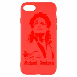 Чехол для iPhone 8 Майкл Джексон