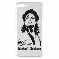 Чехол для iPhone 8 Plus Майкл Джексон